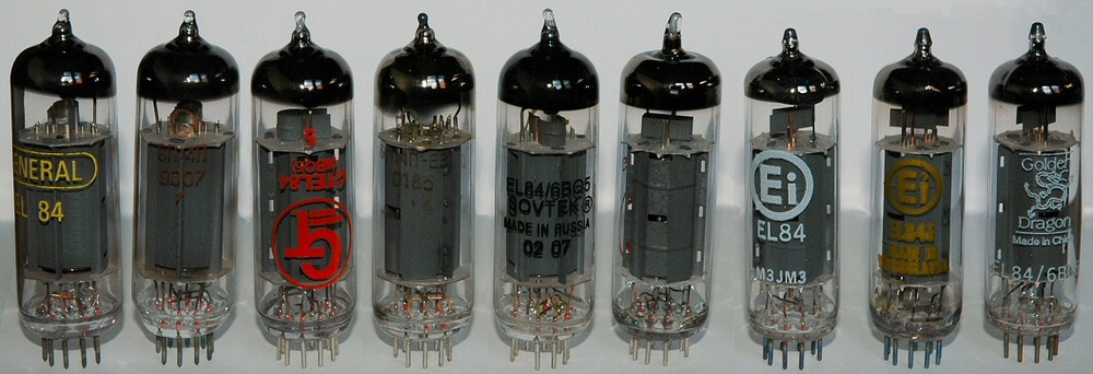 El-84 Tube like those found in the Blues Junior