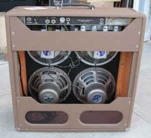 Fender Brown Face with four ten inch Speakers