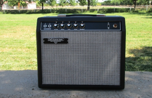 Blackface Vibro-Champ Style amp built custom for a customer. Let me know if if you want one!