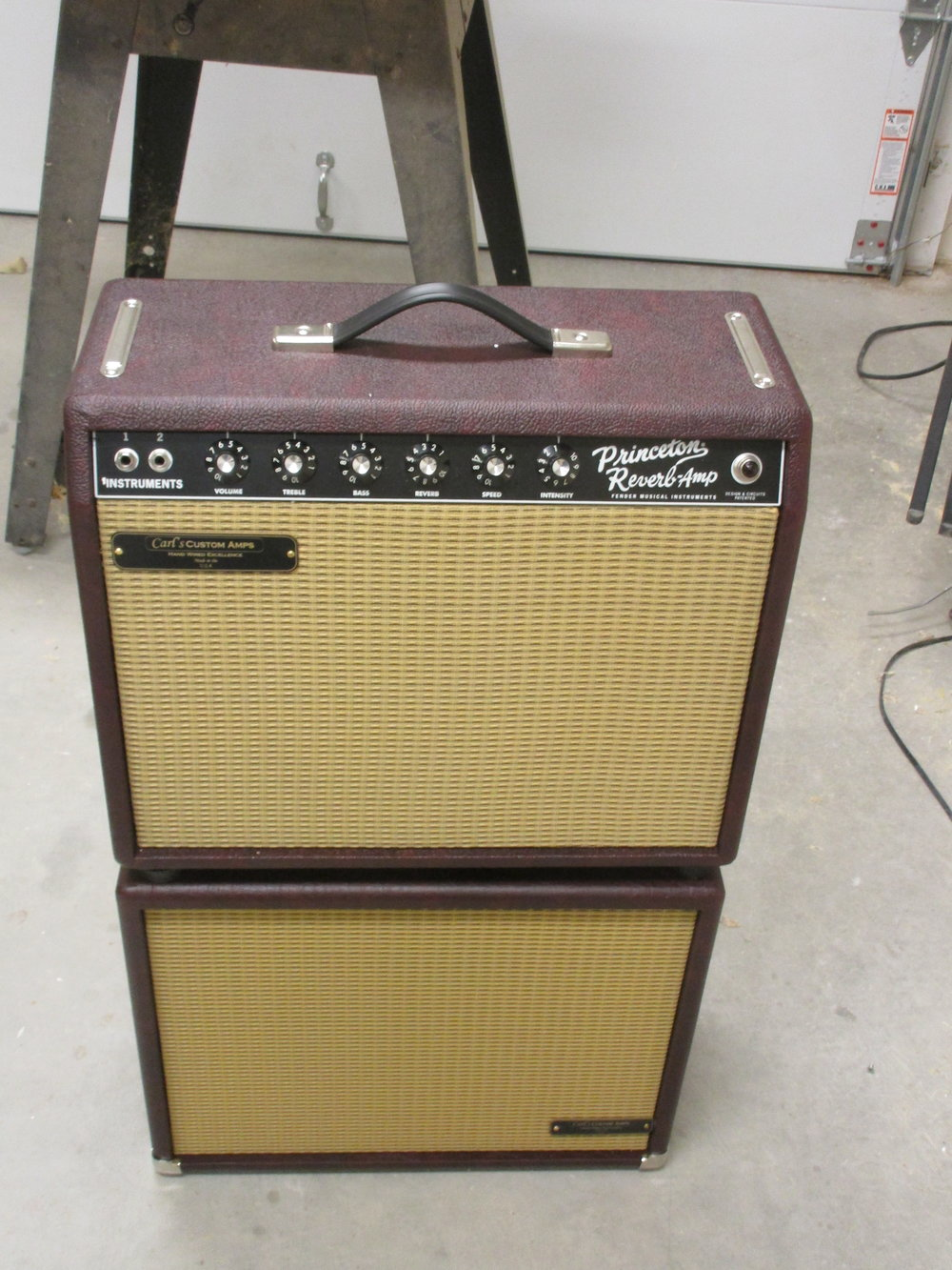 Reissue Princeton Reverb now handwired and upgraded with a 1X12 matching extension cab.