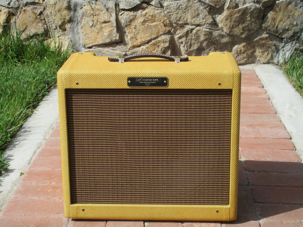 Blues Junior turned into Carl's Custom Amps Octal Princeton!!