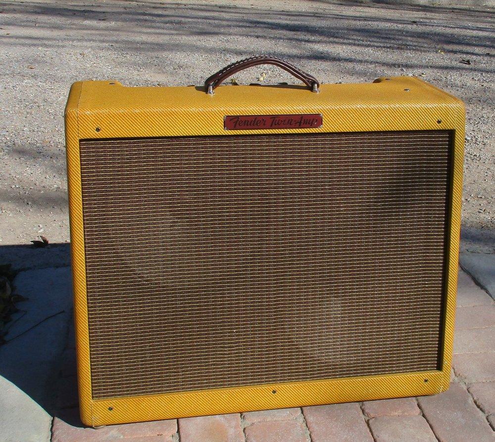 Fender Custom Shop 57 Lower Power Twin Mods Carls Amps Wiring Guitar Amp Speakers