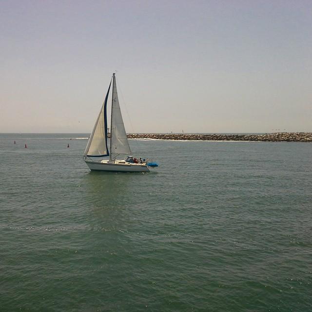 A nice brunch cruise in Marina Del Rey. #California #marinadelrey #la