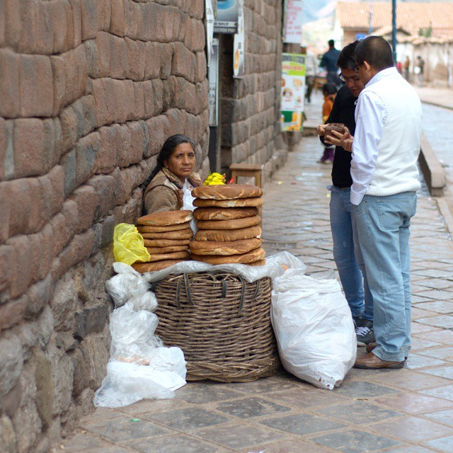Early morning snacks in Cusco, Peru. @afarmedia @ustoanyc @peru #afarmedia #traveldeeper #traveltogether