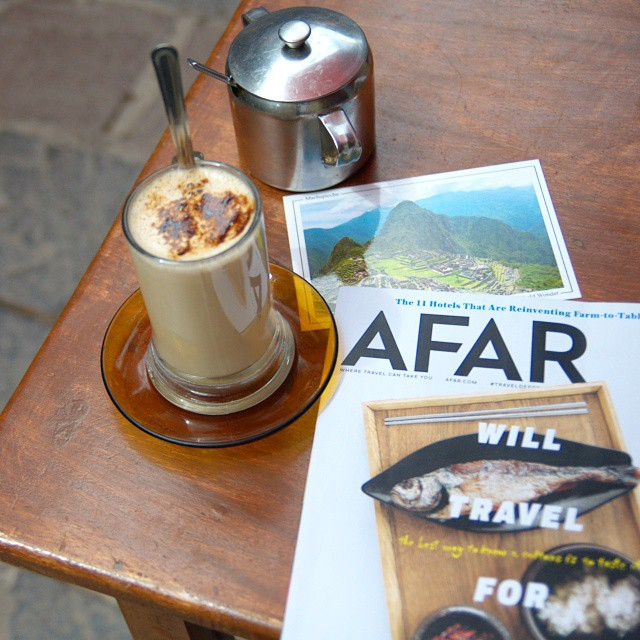 My last day in Peru started off on the right foot! @afarmedia @ustoanyc #afarmedia #traveldeeper #peru #afarmedia #traveltogether