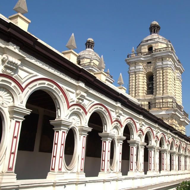 The Monastery of San Francisco in Lima, Peru. @afarmedia @ustoanyc #traveldeeper #peru #traveltogether #natgeotravel