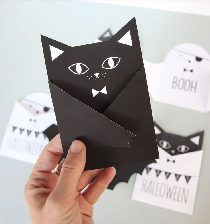 ♡CLICK FOR THE CUTEST DIY HALLOWEEN PRINTABLE CARDS!♡