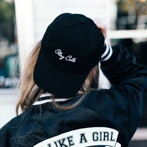 Stay Cute Embroidered Baseball Cap. fight-like-a-girl-lacey5.jpeg 64d61e1c24d