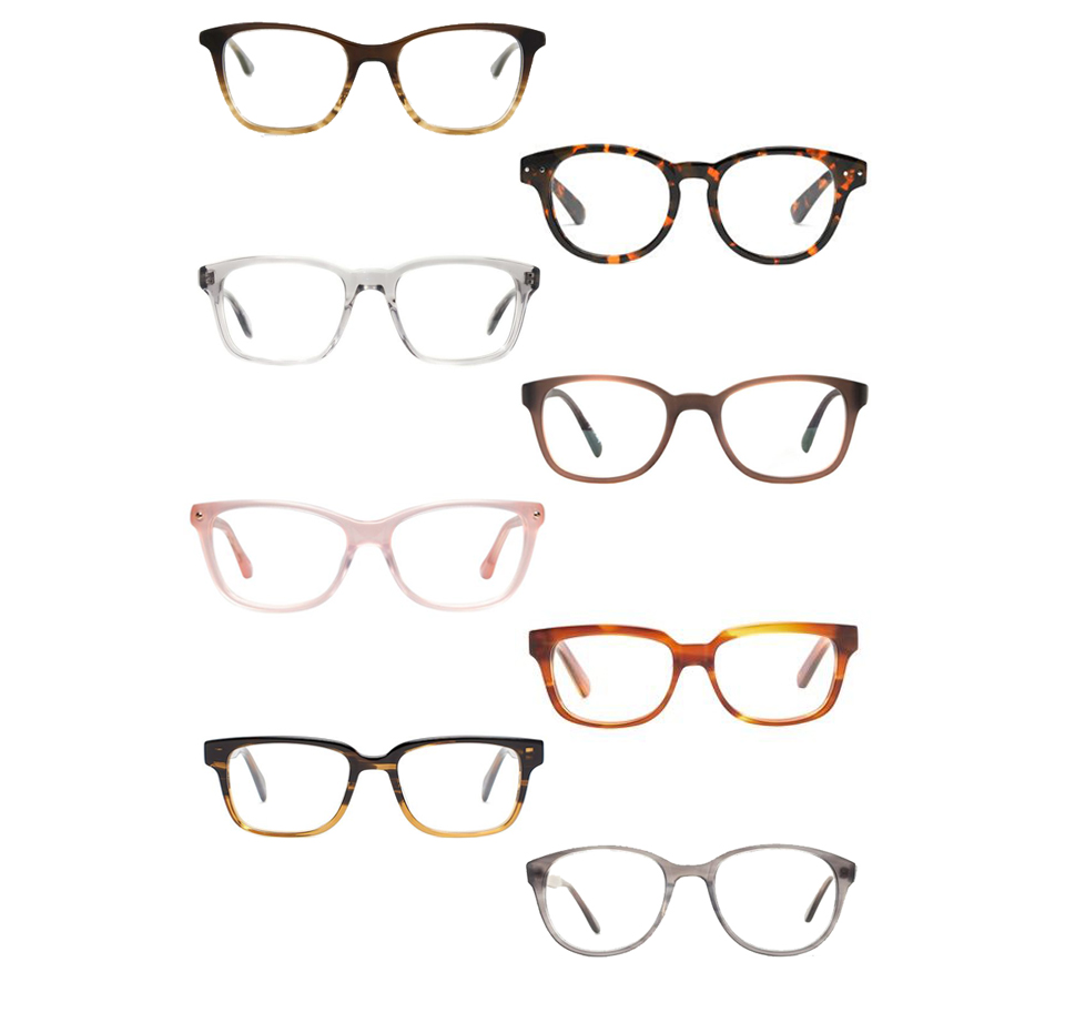 1// Brown Neave Spectacles, Paul Smith2// Textbook Glasses, Madewell 3// Wyler, Oliver Peoples4// Paddison, Oliver Peoples5// No 88, Rowley Eyewear6// Reade Glasses Elizabeth and James, Shopbop7// Freddy, Salt Optics8// Graham, Steven Alan