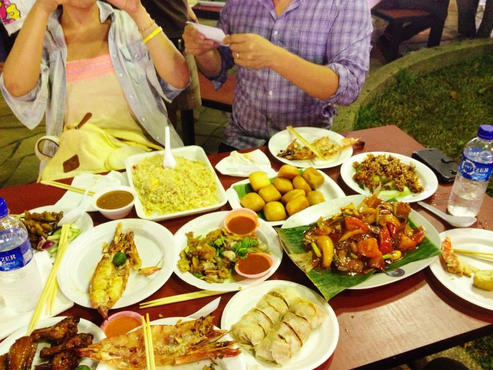 Two of our friends came to visit us in Singapore recently and we took them to Newton Food Centre.  This feast for four people cost around $100 SGD ($80 USD).  Image Source: Michelle Sloane