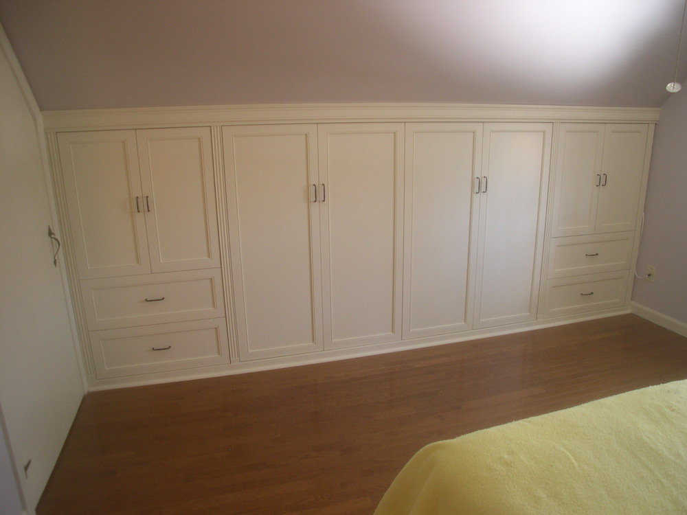 Knee Wall Closet Cabinets