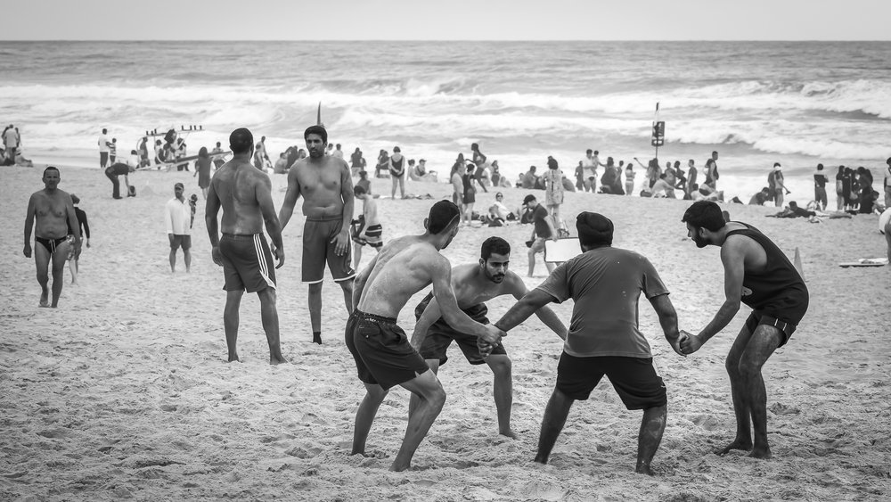 Kabaddi wrestlers