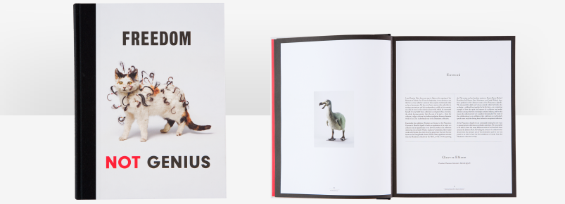Researched and wrote artist biographies forFreedom not Genius – Works from Damien Hirst's Murderme Collection,curated by Elena Guena.    Publisher:Pinacoteca Giovanni e Marella Agnelli e Other Criteria Catalogue italian/english Publication year: 2012 Pages: 188 + cover Size: 23×30 cm