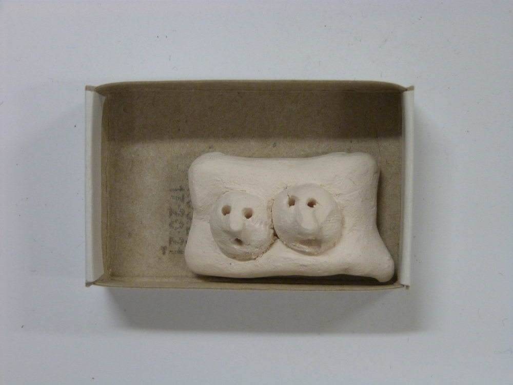 No 458 Pam Walpole 'Two peas on a pillow'