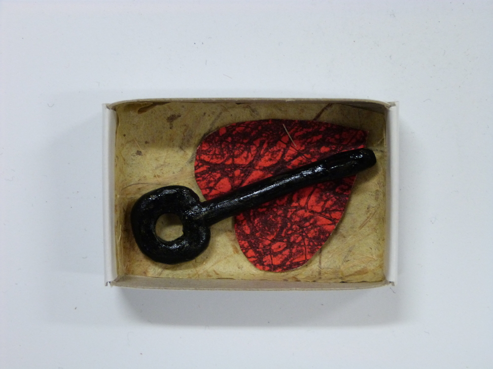 No 645 Evelyne Upton 'Heart key'