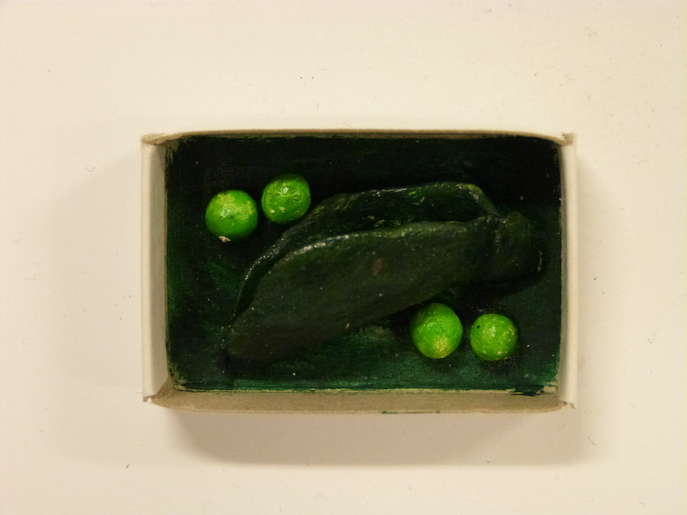 No 657 Eric Campbell 'Peas in a pod'