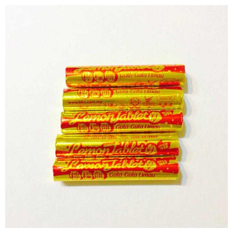 lemon tablets (5 rolls) rm0.90 aeon