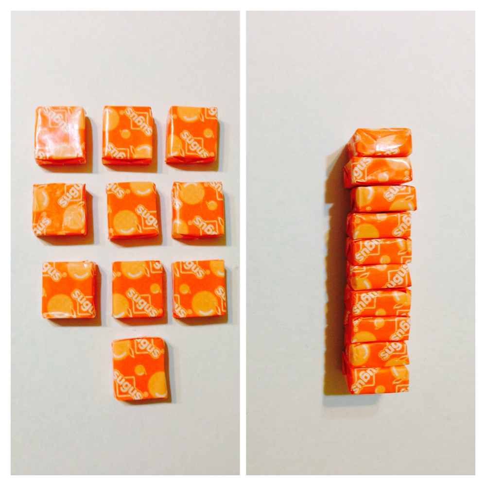 orange-flavoured chewable candy, sugus rm0.80 aeon