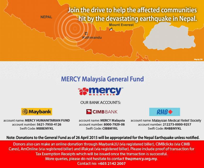mercy for nepal
