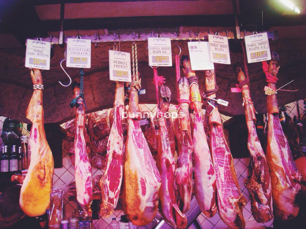 boquiera legs of ham