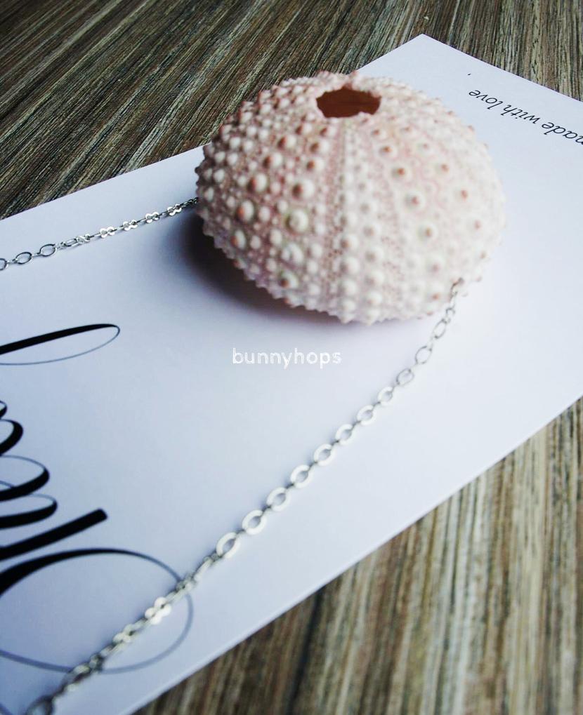 bijoux pink shell