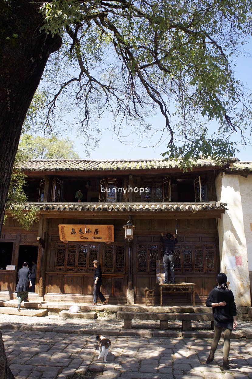 Shaxi's perfectly preserved ancient architecture makes for postcard-perfect moments.JPG