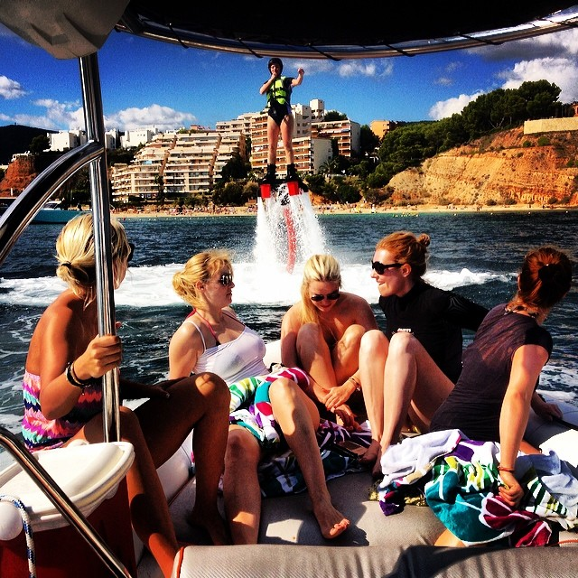 #flyboard #girls #mallorca