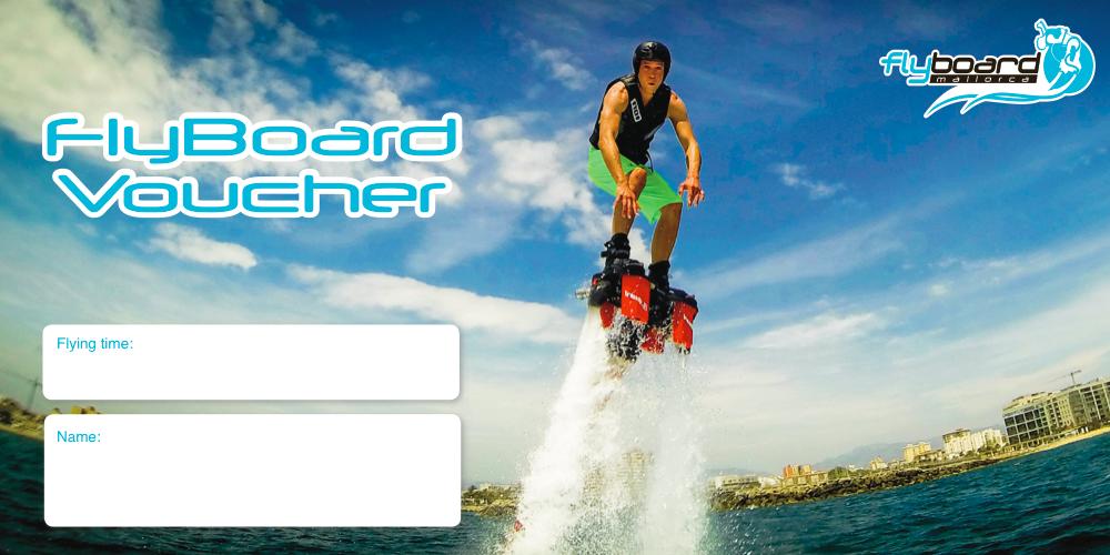 Gutschein Flyboarding