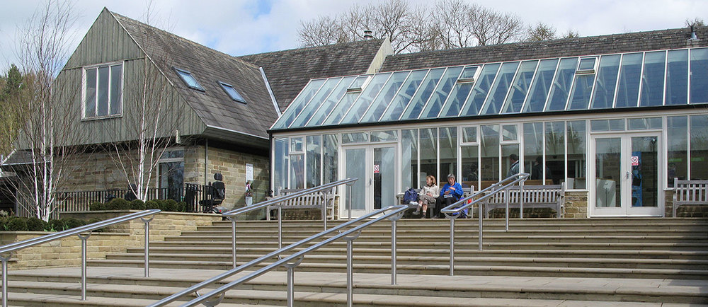 Our gutter on this conservatory is a great example of a single, continuous piece of aluminium guttering; not achievable with any other material.   Location: RHS Harlow Carr, Harrogate