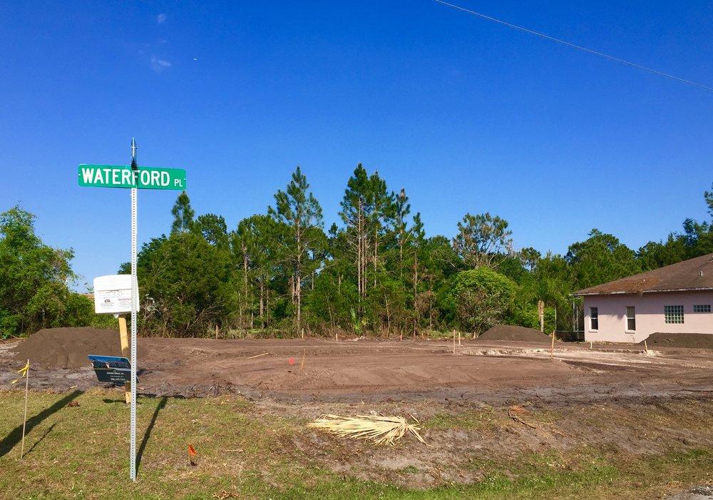 Auburn Custom Homes Site Prep 1 Waterford Palm Coast Florida 1.jpg