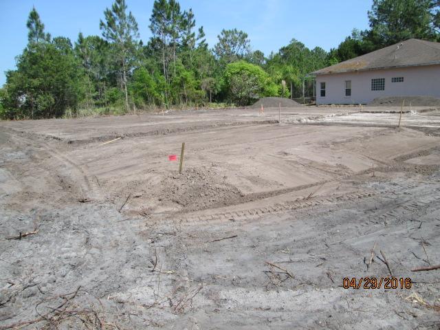 Auburn Custom Homes Pad Prep 1 Waterford Palm Coast Florida 1.JPG