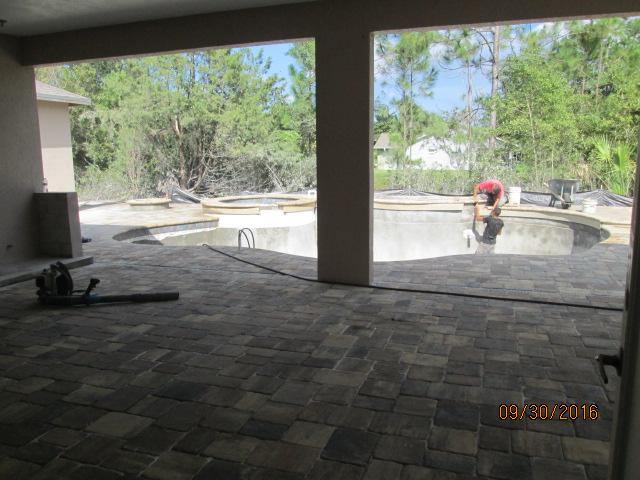 Auburn Custom Homes Palm Coast  Lanai Pavers 2.JPG