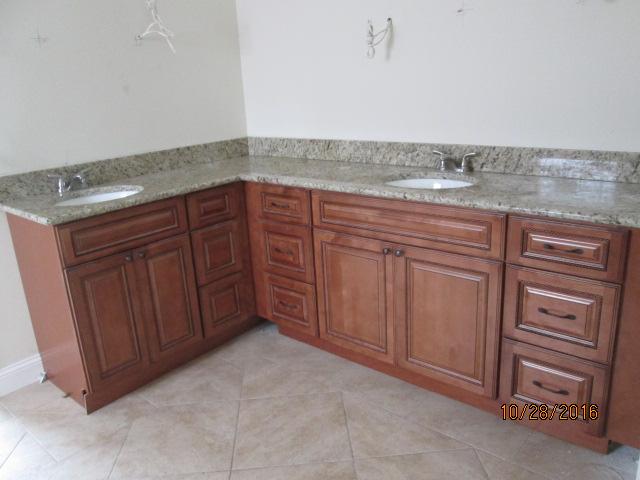 Auburn Custom Homes Palm Coast Master Bath Granite Counter tops 1.JPG