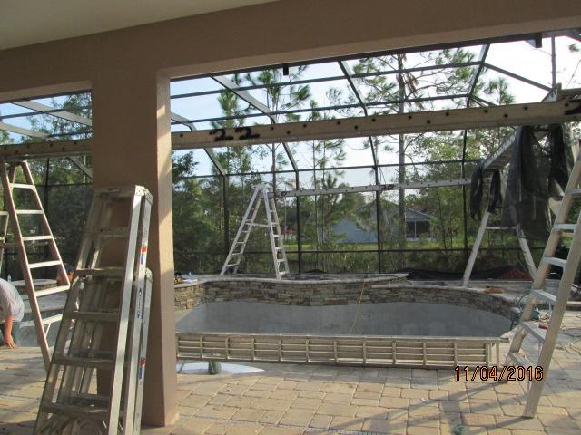 Auburn Custom Homes Palm Coast Pool Enclosure 3.JPG