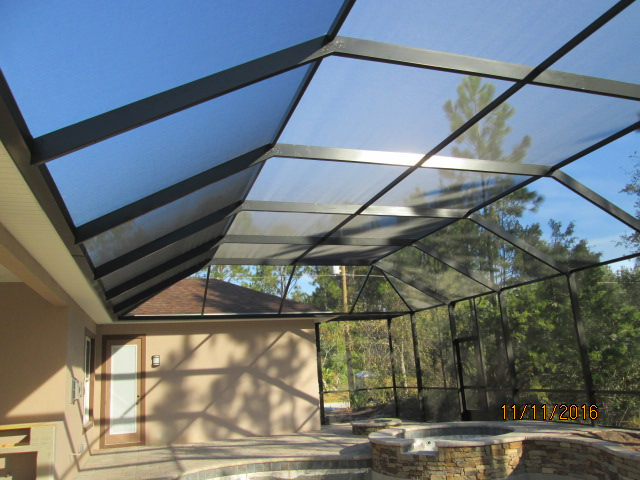 Auburn Custom Homes Palm Coast Screen Enclosure 1.JPG