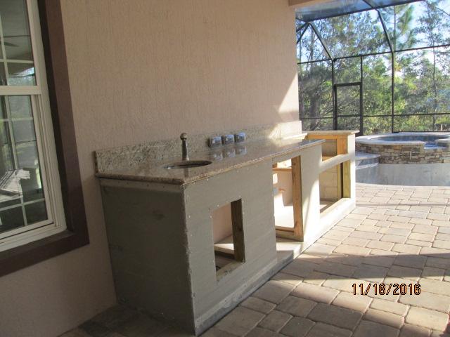 Auburn Custom Homes Palm Coast Outdoor Kitchen 1.JPG