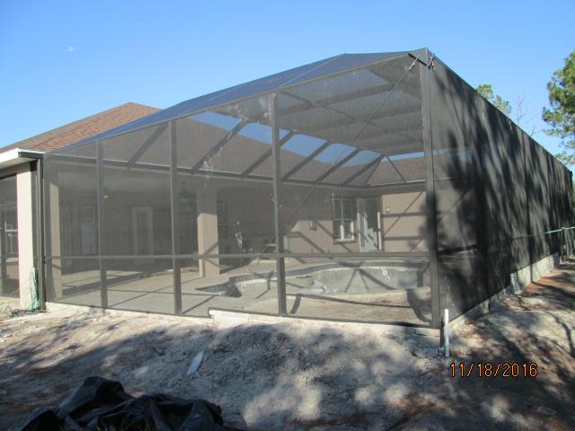 Auburn Custom Homes Palm Coast Pool Enclosure.JPG