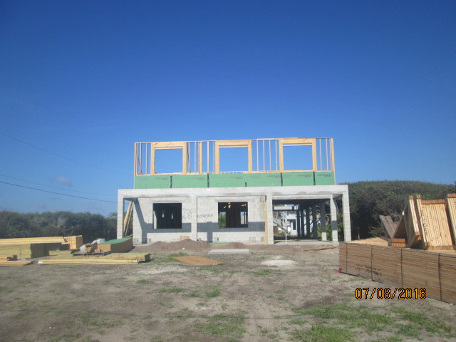 Auburn Custom Homes Palm Coast Florida Framing 2nd 1.JPG