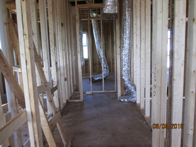 Auburn Custom Homes Palm Coast Florida Finished Framing ac 1.JPG