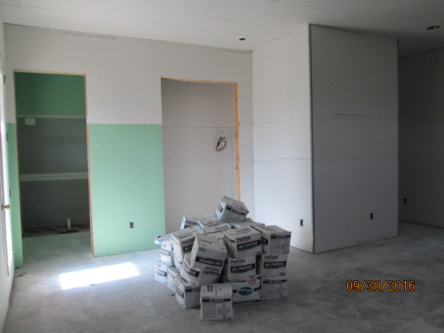 Auburn Custom Homes Palm Coast Florida  Drywall 2.JPG