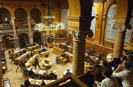 Ständeratssaal (Quelle: Parlament.ch)