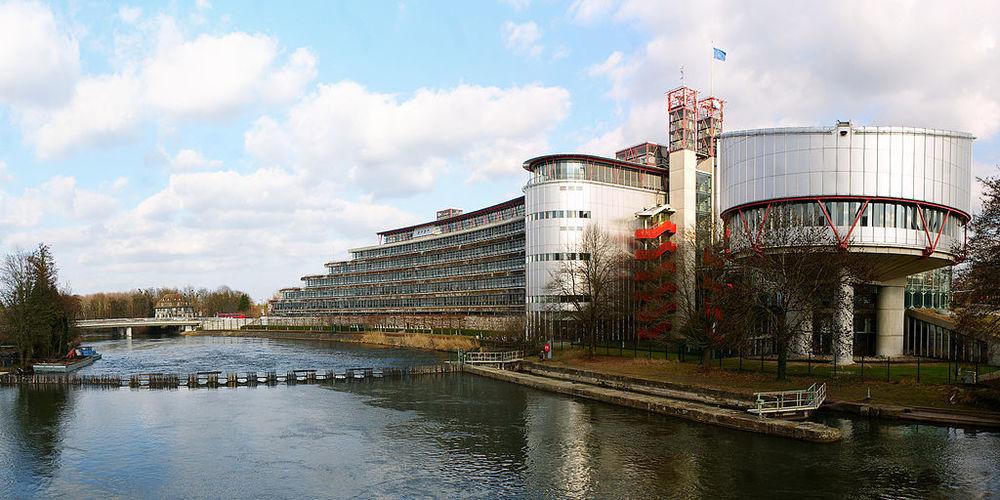 Europäischer Gerichtshof für Menschenrechte, Foto von CherryX [CC-BY-SA-3.0], via Wikimedia Commons