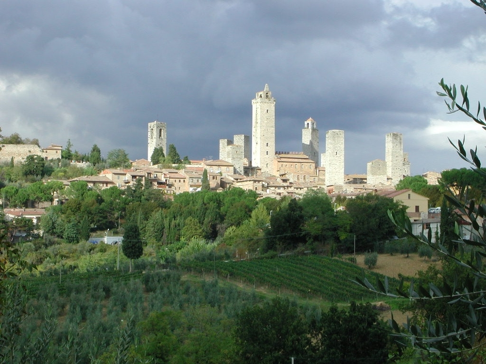 "Foto: ""San Gimignano"" by RicciSpeziari, CC BY-SA 3.0 via  Wikimedia Commons"