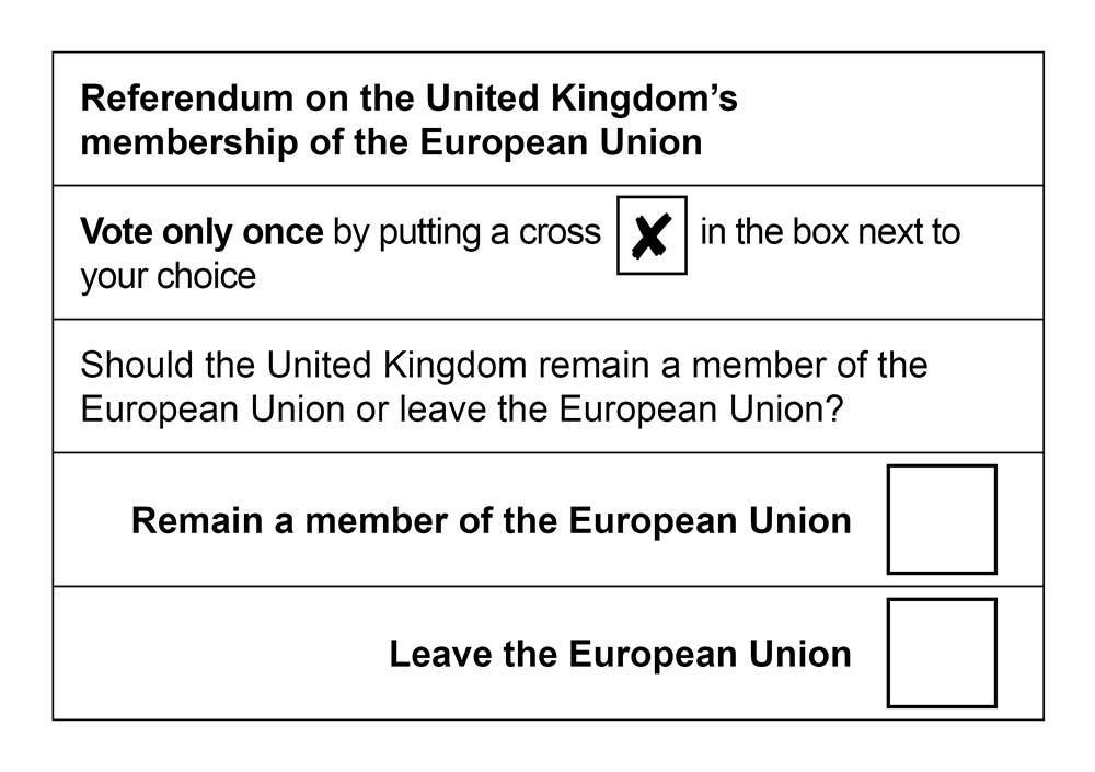 Bild:  The Electoral Commission