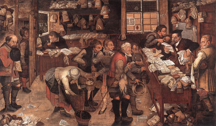 By Pieter Brueghel the Younger, Public Domain, via Wikimedia Commons