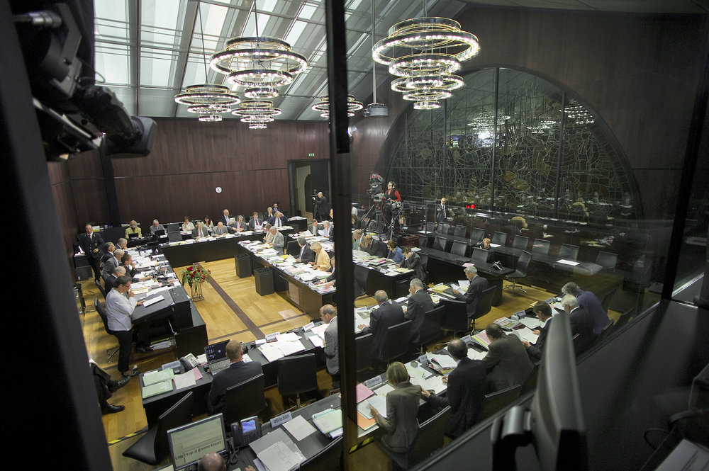 Foto: Kommissionsberatung, Copyright bei  Parlamentsdienste 3003 Bern