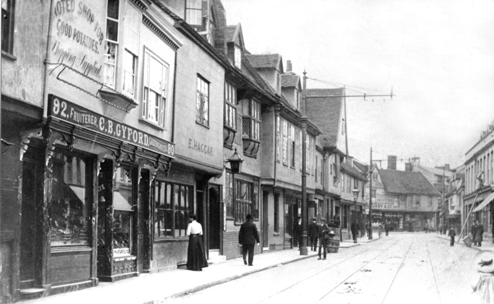 Fore Street shops