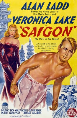 A Veronica Lake film poster.