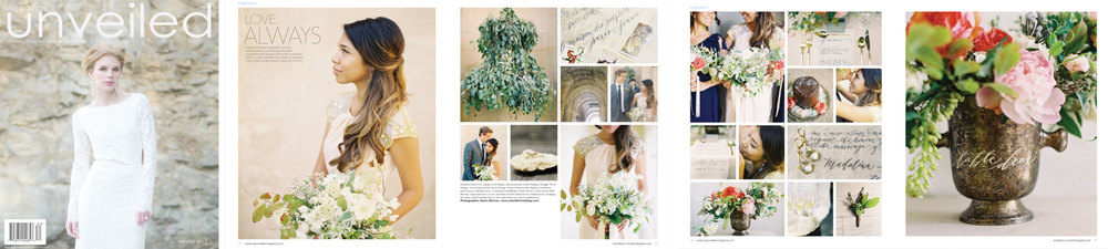 Weddings Unveiled, Winter 2013