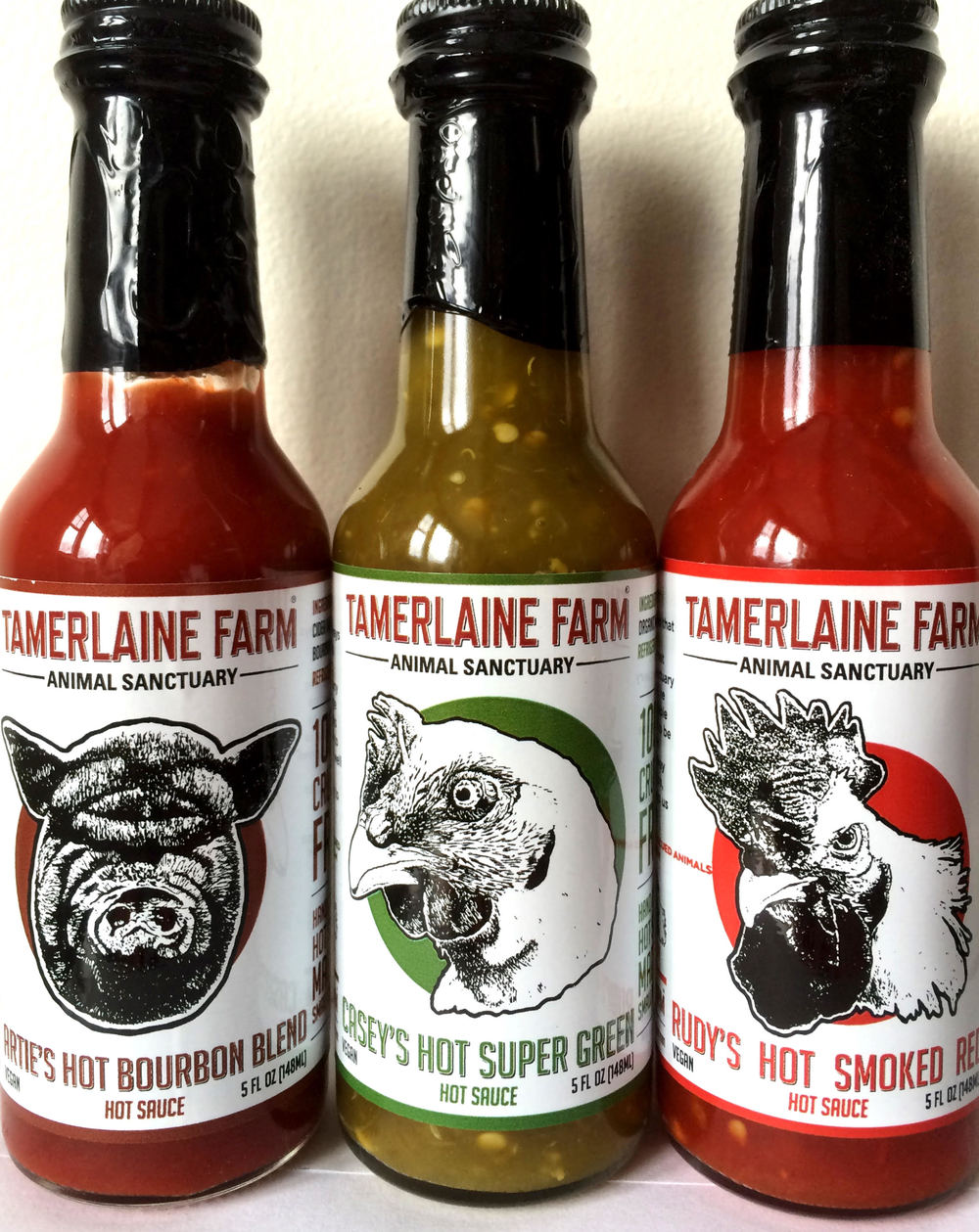 Vegan Hot Sauces